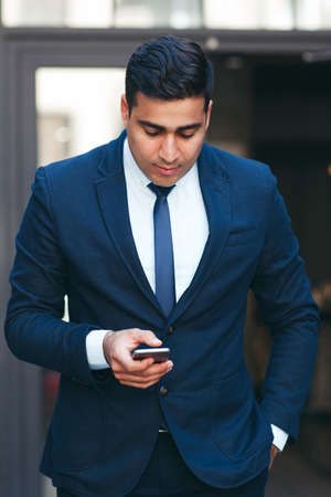 businesslike: Young businesslike neat man. Rich look and appearance. Business fashion and style concept.