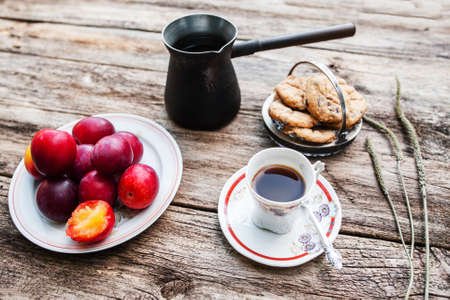 lonelyness: Food Breakfast Autumn Country Coziness Care Calm Cuisine Concept Stock Photo