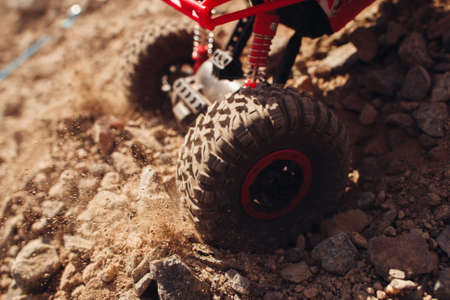 skid: Wheel Slip Skid Crawler Buggy Rally Extreme Desert Countryside Leisure Concept