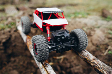 Crawler Toy Racing Extreme Pit Hobby Adult Leisure Entertainment Concept Stock Photo