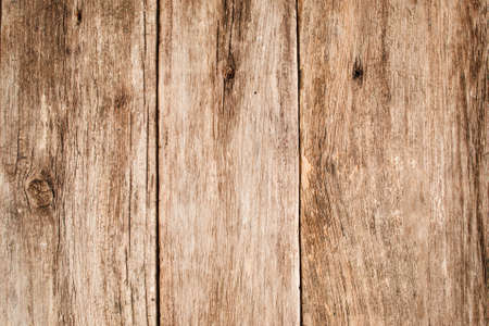 Light wooden table texture free space. Close up of shabby wooden background with vertical position of planks, grungy rustic backdrop