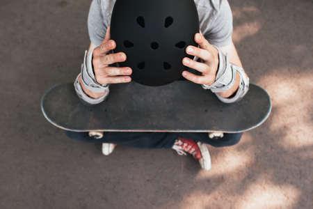 プロスケーター クラッシュ。障害に関する訓練。悪い日緩い