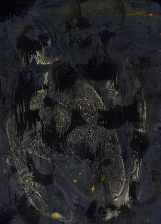 aggressive fear expressive modern art background concept. modern vision on art. rich imagination. Imagens - 89998809