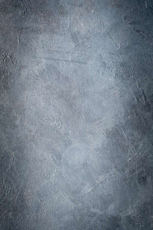 abstract art blue grey textured dust background. distressed dark scratched design. dark edges vignette. free space concept