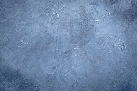 abstract art blue textured background design. distressed dark grey scratched rough backdrop. copy space concept Stock Photo