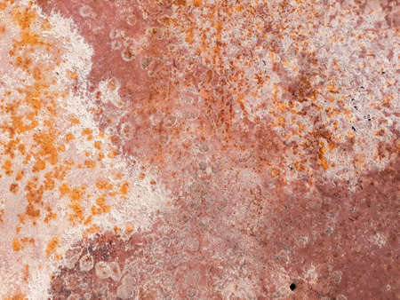 rusty metal distressed background. grunge red old weathered backdrop. iron texture. copyspace concept