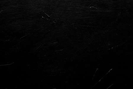 abstract distressed decor background. textured black scratched plaster design. free space concept Stock fotó