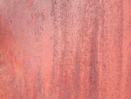 rusted metal rough background. grunge red old weathered backdrop. iron texture. copy space concept