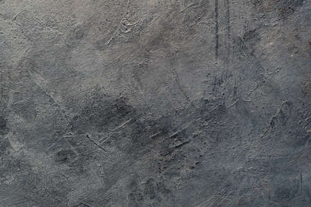 abstract art grey black textured background. distressed dark backdrop. scratched dust design. copyspace concept