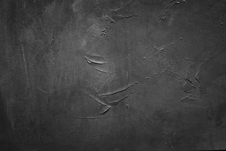 abstract design grey textured background. distressed scratched blackboard template. copy space concept Standard-Bild - 109090983
