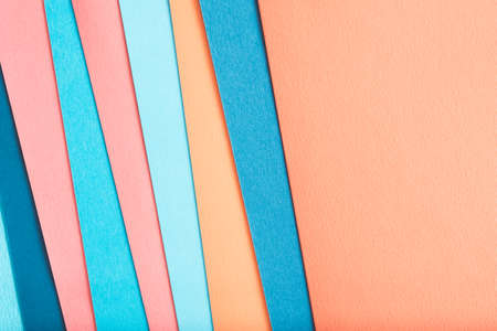 construction paper layers. abstract colorful background design. copyspace concept.