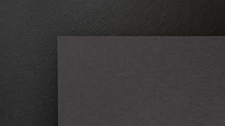 abstract geometric black background. construction paper sheet with empty space for text. Banco de Imagens