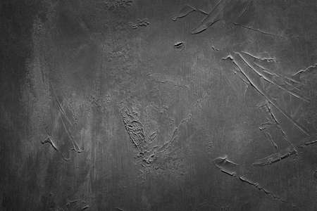 abstract grey textured background. distressed scratched rough message board. copy space concept Banco de Imagens