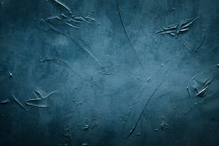abstract blue textured background. distressed scratched rough message board. copy space concept