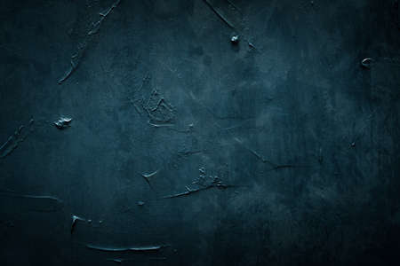 abstract blue textured background. weathered scratched rough message board. copy space concept
