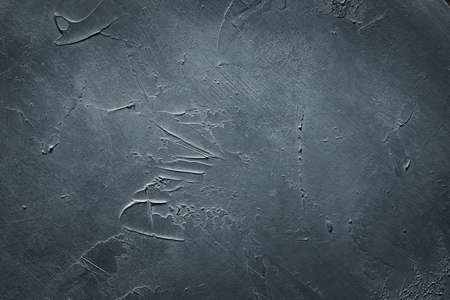 abstract grey textured background. distressed scratched chalkboard design. copyspace concept Standard-Bild - 109938797