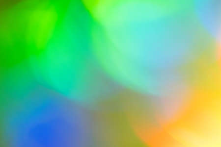 Blurry lights background. Defocused lens flare glow. Abstract illuminated bokeh design.