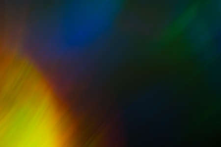 Blurred colorful lights. Abstract lens flare effect background. Bokeh illuminated glow. Stock Photo - 121425640