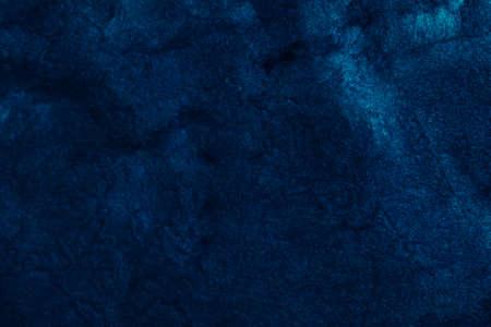 Fondo di struttura di arte astratta. Disegno del cielo notturno. Bella vernice blu navy con effetto scintillante.