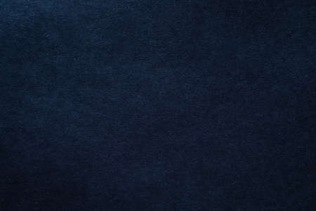 Dark blue felt texture abstract art background  Solid color wool
