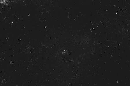 Staub- und Kratzerdesign. Schwarzer abstrakter Hintergrund. Vintage-Effekt. Platz kopieren. Standard-Bild