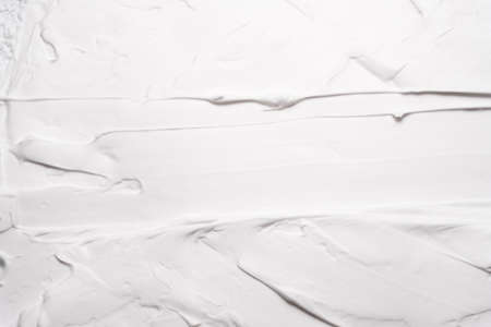 White foam texture abstract art background. Plaster wall design surface. Copy space. Stock fotó