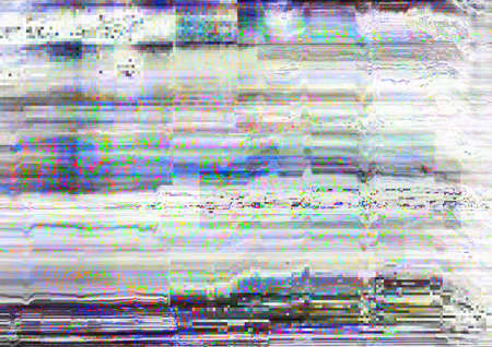 Screen glitch. Signal error. White static noise pattern overlay.