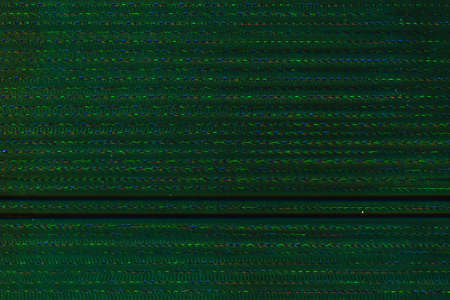 Glitch art. Pixel noise. Green striped pattern overlay. 版權商用圖片 - 131246133