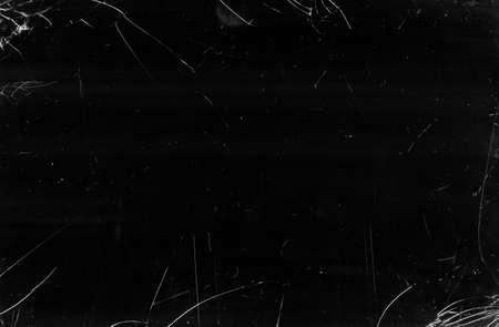 Cracked glass texture. Broken screen. Black dirty scratched window effect photo editor layer. Foto de archivo