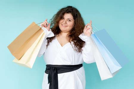shopaholic lifestyle happy woman hot sale black