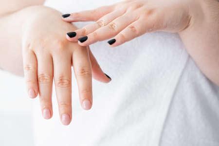 moisturizing skincare plus size woman beauty