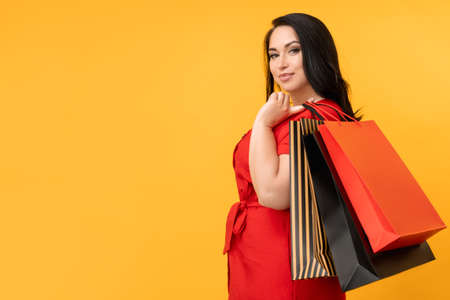 go shopping stylish woman hot sale holiday