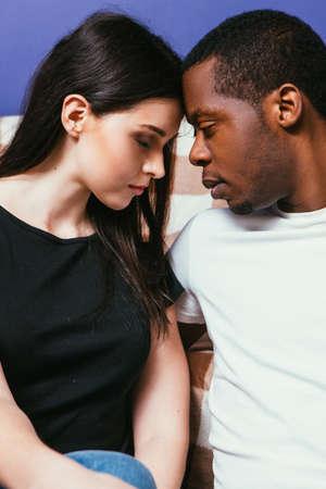 Black man white woman relationships