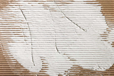 negligent: Background Plaster Spread Cardboard White Repair Construction Abstract Constructional Building Concept