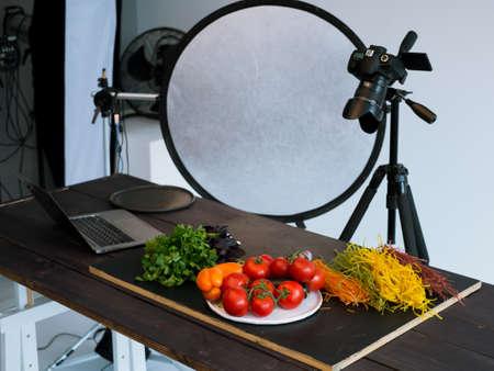 food photography photo studio art blog concept