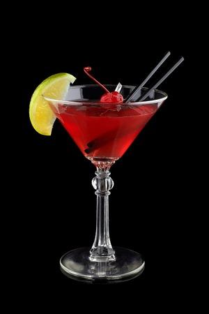 Cosmopolitan cocktail alcoholic