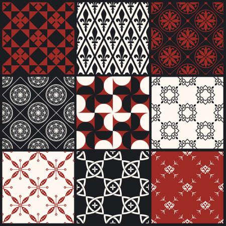 dekorativa mönster: