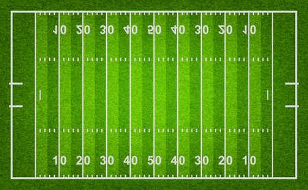 American-Football-Feld mit Gras Textur. Vektor-Illustration eps10. Standard-Bild - 39040030