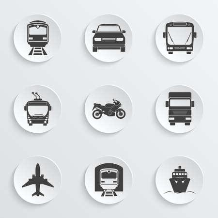 Eenvoudige vervoer pictogrammen instellen