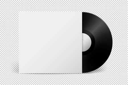 grooves: Realistic music gramophone vinyl