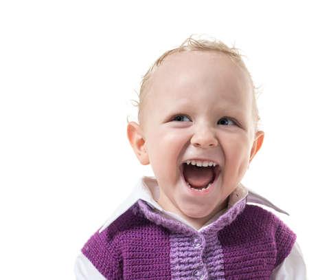 mischievous: Portrait of a mischievous kid