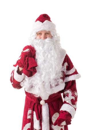 ded moroz: Russian Santa Claus Stock Photo