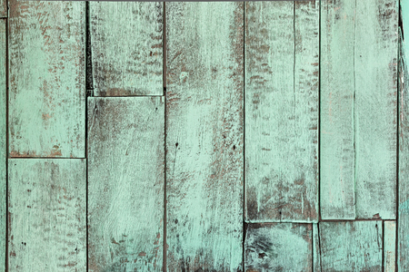 Painted wooden plank background. Old weathered wood texture. Industrial and grunge wall in loft interior.