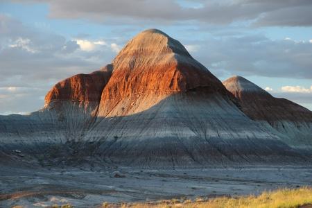 tepee: Petrified Forest Tepee Formations - Petrified Forest National Park, Arizona
