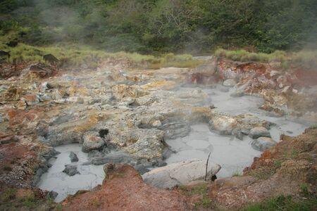 沸騰の泥の鍋リンコンデラビエハ、コスタリカ 写真素材 - 10510022