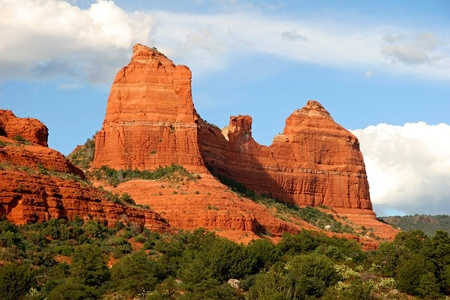 Red Sandstone Formations - Sedona, Arizona photo