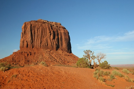 Red Sandstone Rock Formation - Monument Valley, Arizona Stock Photo - 12963735