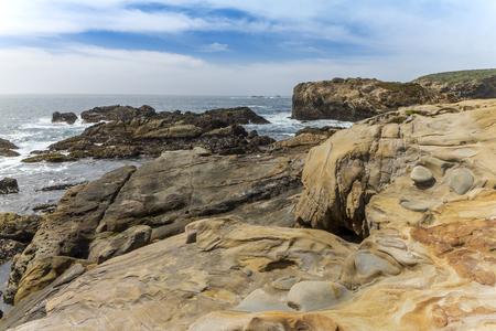 Coastline of the Monterey Peninsula in California