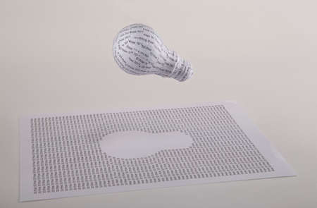 rapid prototyping: 3D printed lightbulb concept  from idea to rapid prototyping