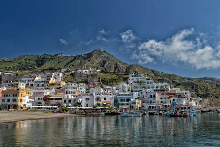 A view of SantAngelo in Ischia island in Italy